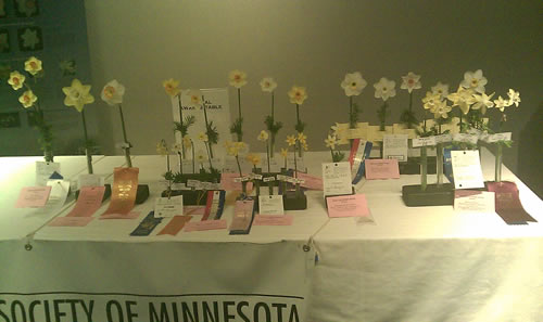 2012 Awards Table